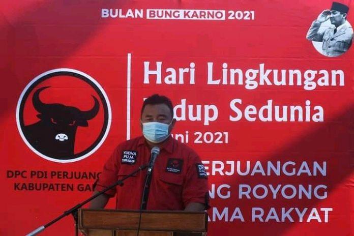 Ket poto : Ketua DPC PDI Perjuangan Kabupaten Garut, Anggota DPRD Garut Yudha Puja Turnawan (Dok-Red)