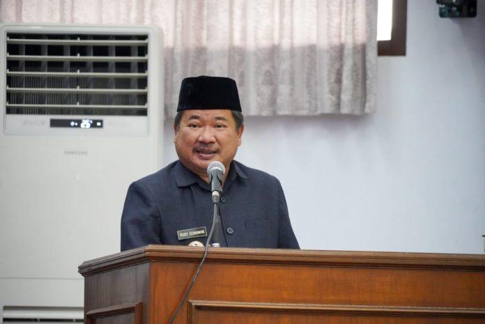 Ket Poto : Bupati Garut H Rudy Gunawan (Ist)