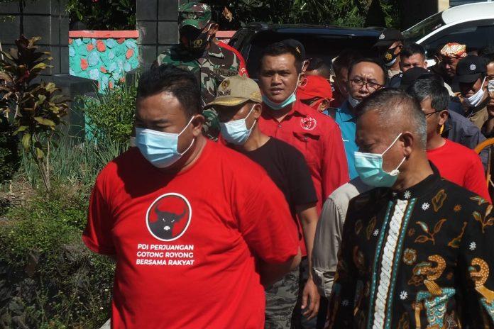Ket Poto : Sekda Garut H Nurdin Yana Bersama Anggota DPRD Garut Yudha Puja Turnawan (Dok-Red)