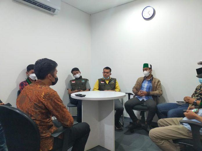 HMI Cabang Garut melakukan Audensi Dengan Bank Mandiri Terkait BPNT (Foto: Papap)