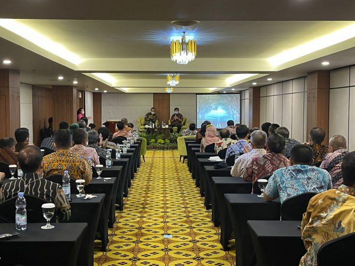 Bupati Garut, H Rudy Gunawan saat di terima Wakil Walikota Yogyakarta, Heroe Poerwadi (Foto: Ist)